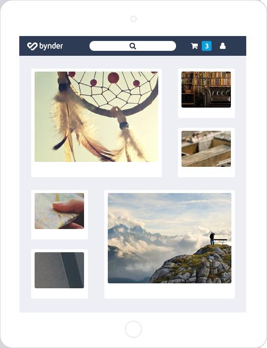 Bynder Katalog App
