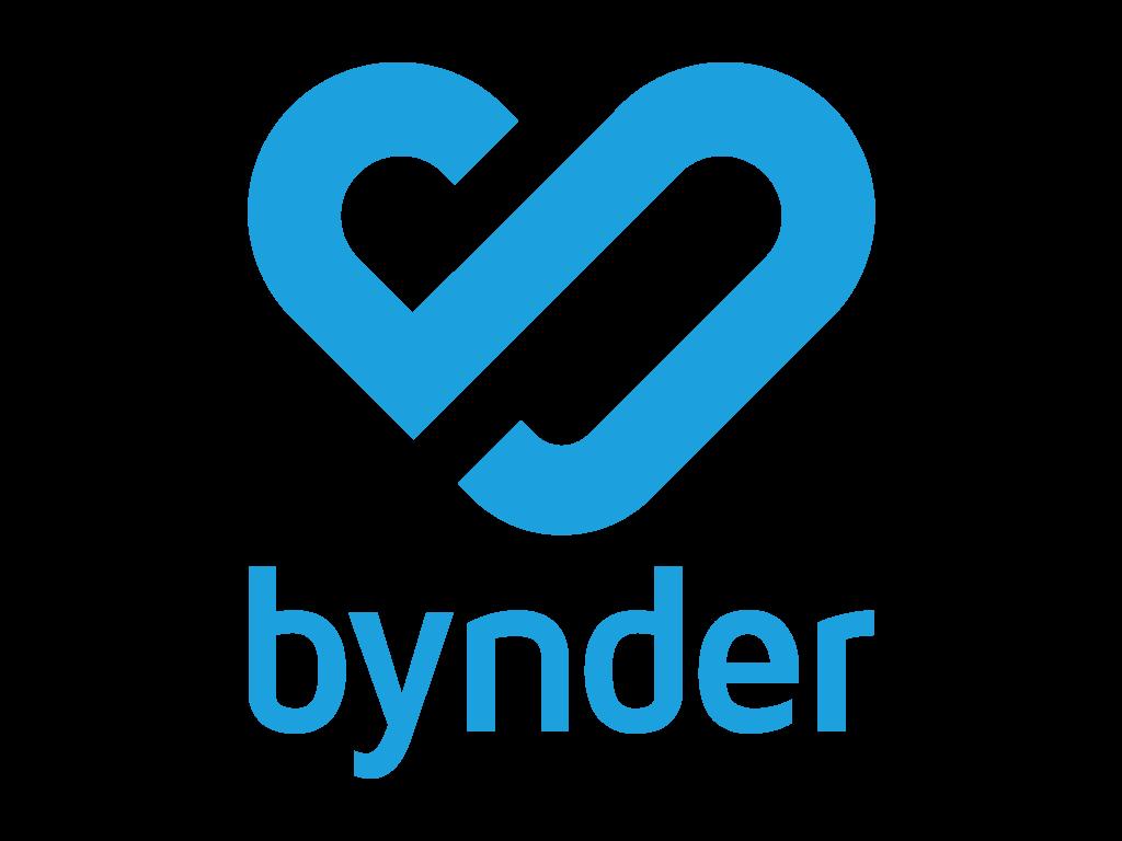 New Bynder logo
