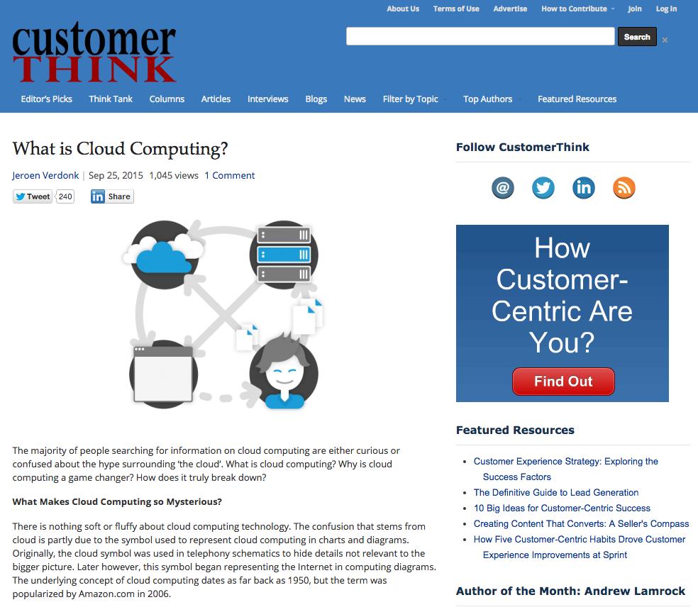 What is cloud computing screenshot