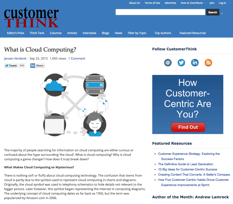 What is cloud computing screenshot