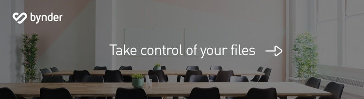 Take control of your files
