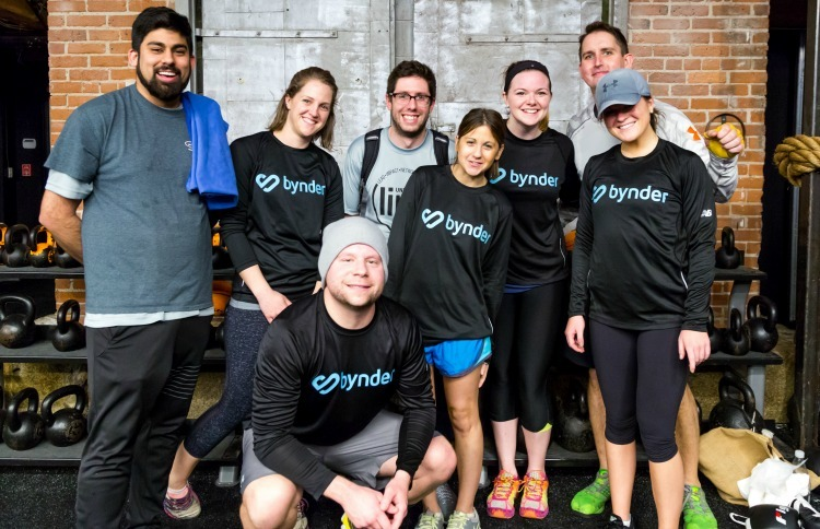 Bynder Boston Team Charity Event