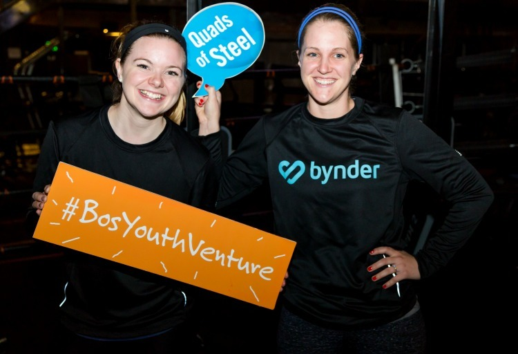 Boston Byndies At Youth Venture Spin-A-Thon