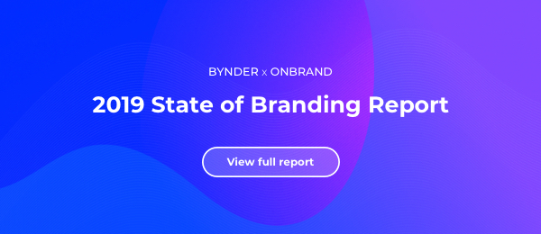 State of branding 2019